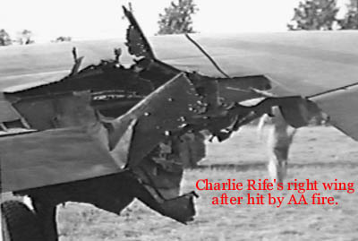 Image result for P-47 damaged wing